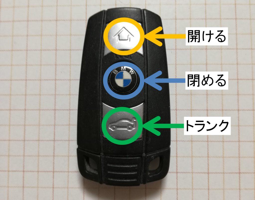 BMW e90 スマートキーの仕組みと構造について