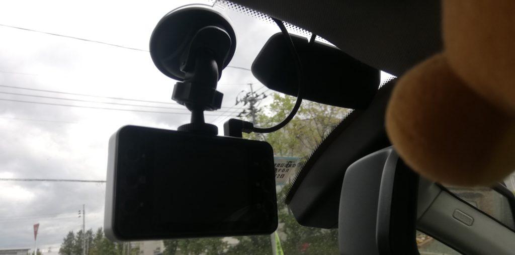 BMWe90にドライブレコーダー取り付けてみたよ